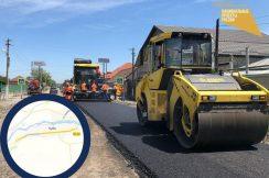 Капитальный ремонт дороги в селении Куба в Кабардино-Балкарии идёт опережающими темпами