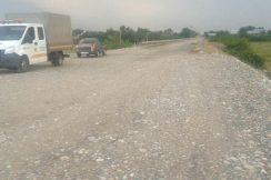 В результате прошедших накануне ливневых дождей пострадала автодорога «Нарткала-Озрек-Старый Урух».