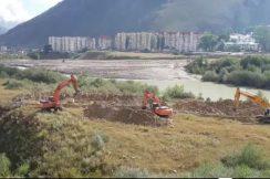 В целях предотвращения подтопления города Тырныауза проводятся мероприятия по снижению уровня подъема реки Баксан