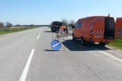 Ведутся работы по ямочному ремонту автомобильных дорог  Терского муниципального района