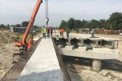 Продолжается строительство моста через р. Нальчик к с.п. Нартан