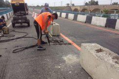 Продолжаются работы по содержанию мостовых сооружений