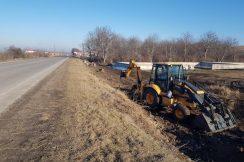 В Зольском муниципальном районе КБР на автомобильных дорогах ведутся работы по уборке