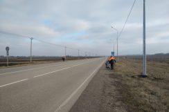 Ведутся работы по приведению в нормативное состояние полосы отвода автомобильной дороги Нальчик – Майский Урванском и Майском муниципальных районах КБР.